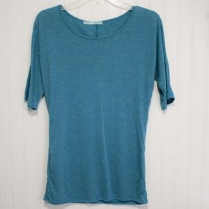 Maurice's Tee in teal sz S
